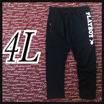 4L・PLAYBOYスウェットパンツ新品/MCN-107