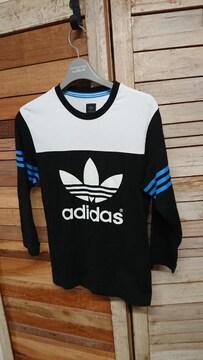 アディダス オリジナルス 8分袖 Tシャツ トレファイル XS