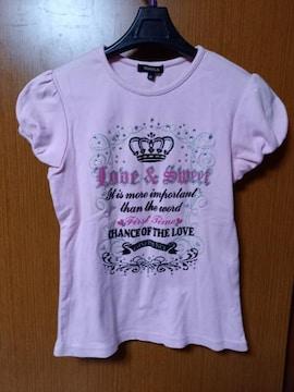 ∞ ピンクのシャツ