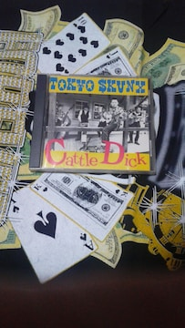 TOKYO SKUNX/ cattle dick�沌スティックロカビリー東京スカンクスレア
