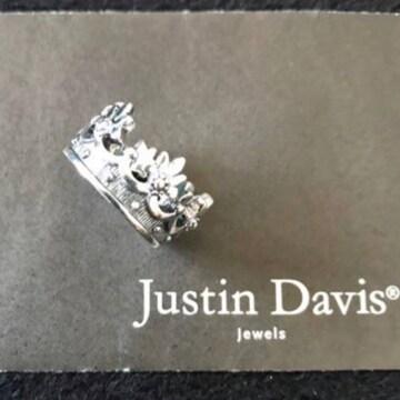 新品◆JUSTIN DAVIS◆PRINCESS CROWN RING◆11号◆廃盤◆