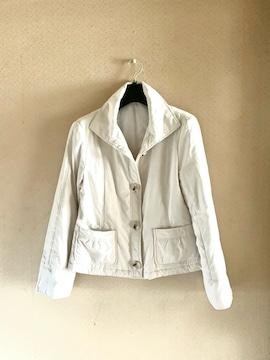 【秋冬】MAKELET◆メイクレット◆フワ軽中綿◆ホワイトジャケ