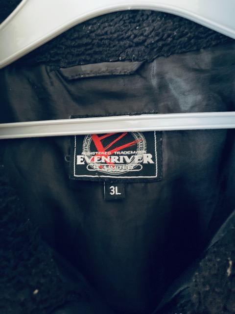 ダウンベスト ブラック アウター evenriver メンズ トップス < 男性ファッションの