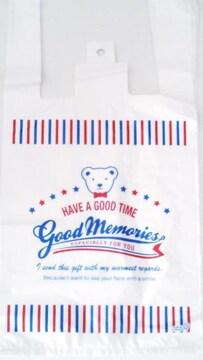 キュートレジバッグ★アメリカンジョイベア10枚☆大きめレジ袋