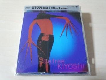 Kiyoshi CD「ビー・フリーBE FREE」(media youth)廃盤●