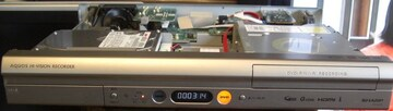 SHARP/DV-AC32;地デジ/HDD/DVDレコーダ中古完動