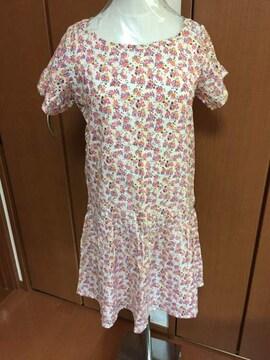 オシャレ♪Tシャツワンピース(〃ω〃)新品 マタニティー♪花柄
