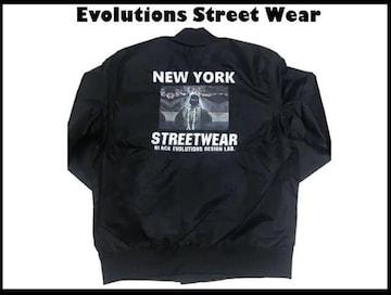 新品 正規品 Evolution Street Wear Brooklyn Newyork 2XL 黒