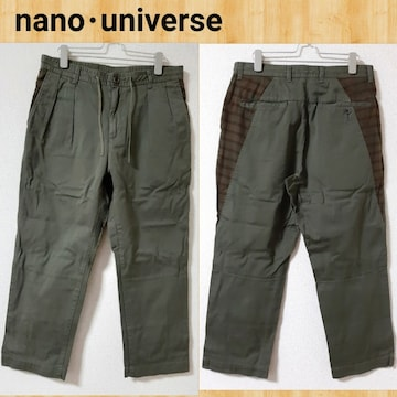 nano・universe ナノユニバース ミリタリーパンツ M イージーパンツ