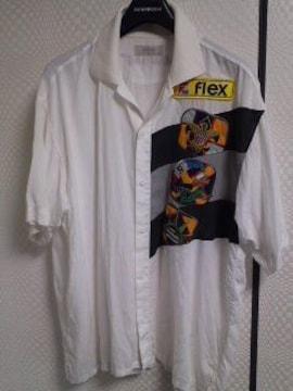 アダバット半袖オープンシャツ�W
