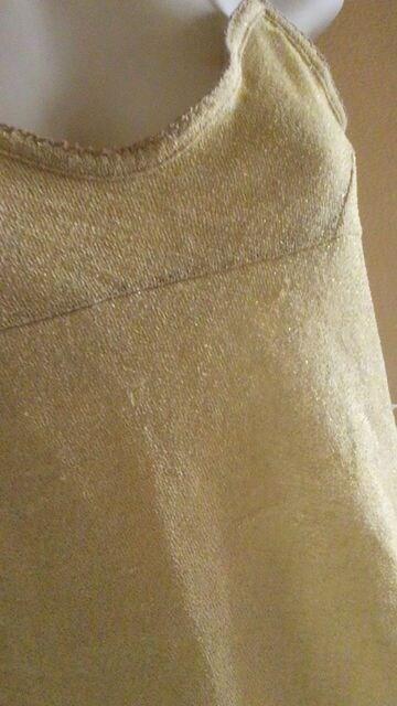 【即決】TIMY◆gold&ラメ◆ストレッチゴージャスキャミ < 女性ファッションの