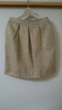VIS  ツィードスカート
