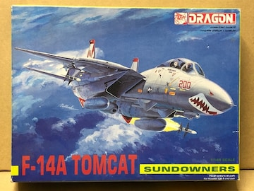 1/144 DRAGON F-14A TOMCAT SUNDOWNERS 4505