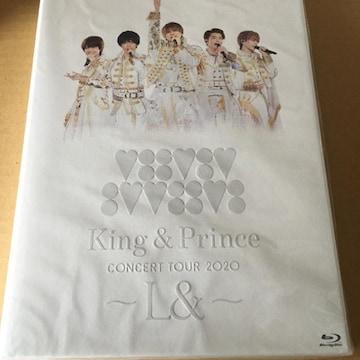 即決 King & Prince CONCERT 2020 〜L&〜 2Blu-ray 初回盤 新品