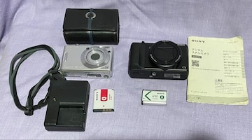 SONYデジタルカメラ2台送料込み