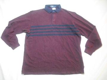 43 男 POLO RALPH LAUREN ラルフローレン ラガーシャツ Lサイズ