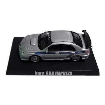 1/64 オプションミニカーコレクション2 スバル イングス GDB インプレッサ シルバー ミニカー