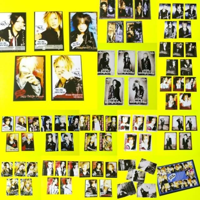 レア★the GazettE-ガゼット★限定写真76枚★ルキ/麗葵/れいた/戒  < タレントグッズの