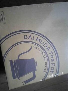バルミューダザポットホワイト新品