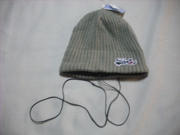 mb561 男 QUIKSILVER クイックシルバー イヤホン付き ニット帽