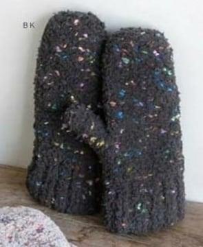 cheerネポスドロップもこもこボアボアグローブミトン手袋