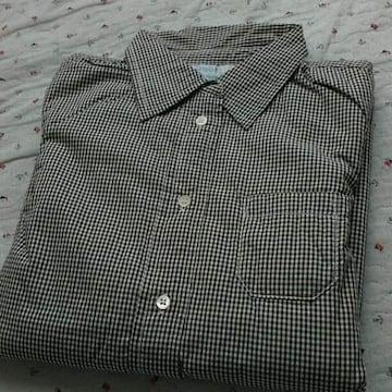 fabrique en planete terre中綿入りギンガムチェックシャツ3