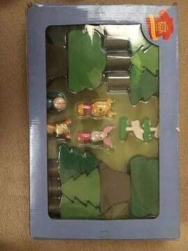 Disney プーさん 木製おもちゃ