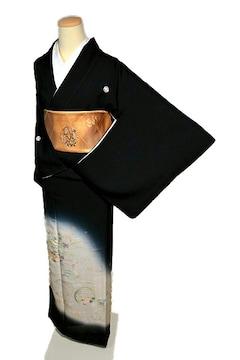 【最高級】 新品同様 名門・上野家【4代目 上野真】黒留袖 T1980