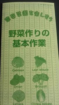 家庭菜園、野菜作りの基本作業冊子