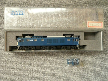 KATO Nゲージ「3024 EF64 1000一般色クーラー搭載車」60