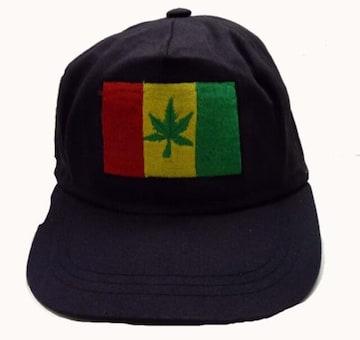 90'S VINTAGE デッドストック RASTA SNAPBACK CAP