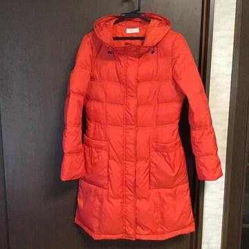ダウンコート  オレンジ