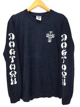 DOG TOWN(ドッグタウン)USA製 アームプリントL/S TEEクルーネックTシャツ