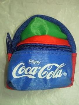 コカ・コーラ レトロ カラフル リュックサック BAG バッグ ウエストポーチ キーホルダー 5個 コーラ