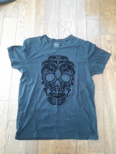 ZARA ドクロ柄 半袖Tシャツ < ブランドの