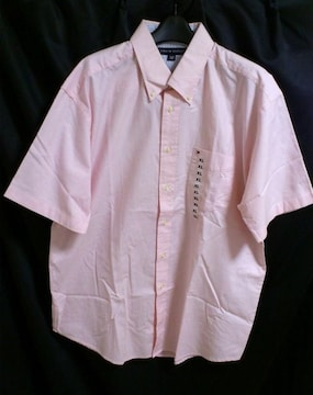 TommyHilfigerトミークラシックワンポイントシャツピンク