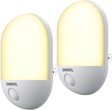 足元灯 明暗センサー コンセント式 LED「送料無料」