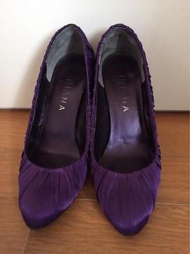 美品 ダイアナ 紫 セクシーハイヒール