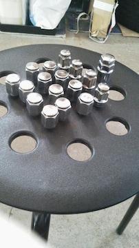 送料込みM12×P1.25 アルミ用袋ナットロック付き 16個セット