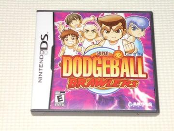 DS★SUPER DODGEBALL BRAWLERS 海外版(国内本体動作可能)