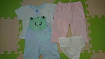 70女の子★babyGAPパンツ&夏パジャマ★まとめ売り
