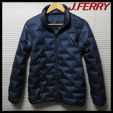 「J.FERRY MEN」ダウンジャケット ライトダウン NAVY 46(M)