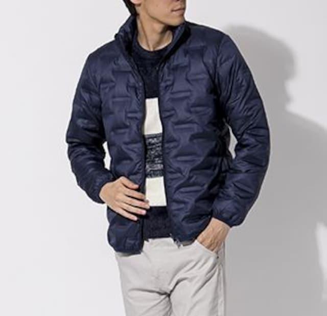 「J.FERRY MEN」ダウンジャケット ライトダウン NAVY 46(M) < 男性ファッションの