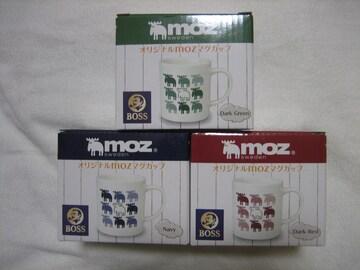 オリジナルMOZマグカップ 全3種 BOSS mozsweden サントリー