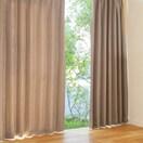 遮光性カーテン パステル 幅100×丈200cm 2枚組  BR