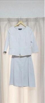 UNTITLED アンタイトル ノーカラースカートスーツ 入学式