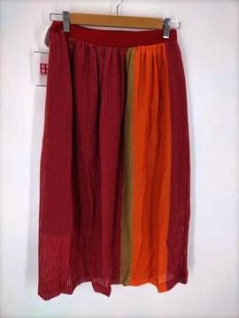 ZUCCa(ズッカ)シアーメッシュ/スカートプリーツスカート