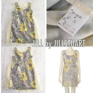 JILL by JILLSTUART フラワーワンピース ジルスチュアート