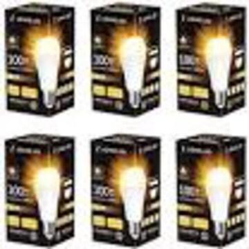 ロハス LED電球 E26口金 100W形相当 電球色 15W 高輝度 1600lm 6