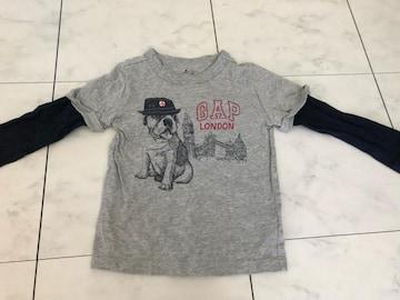 babyGAP重ね着風長袖Tシャツキッズ男児★95cm